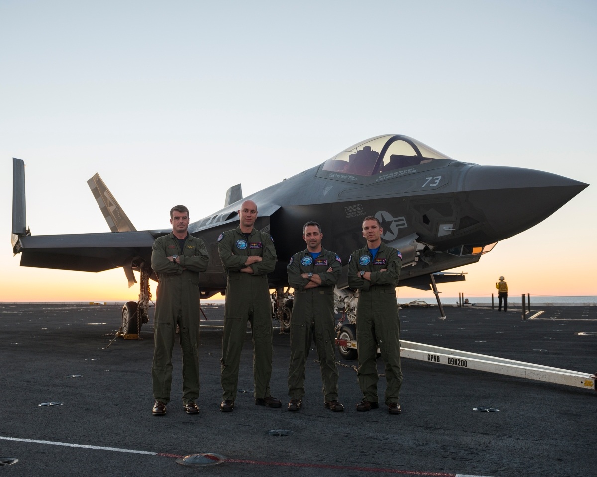 Pioneering A New Frontier: The Men Behind The F-35C