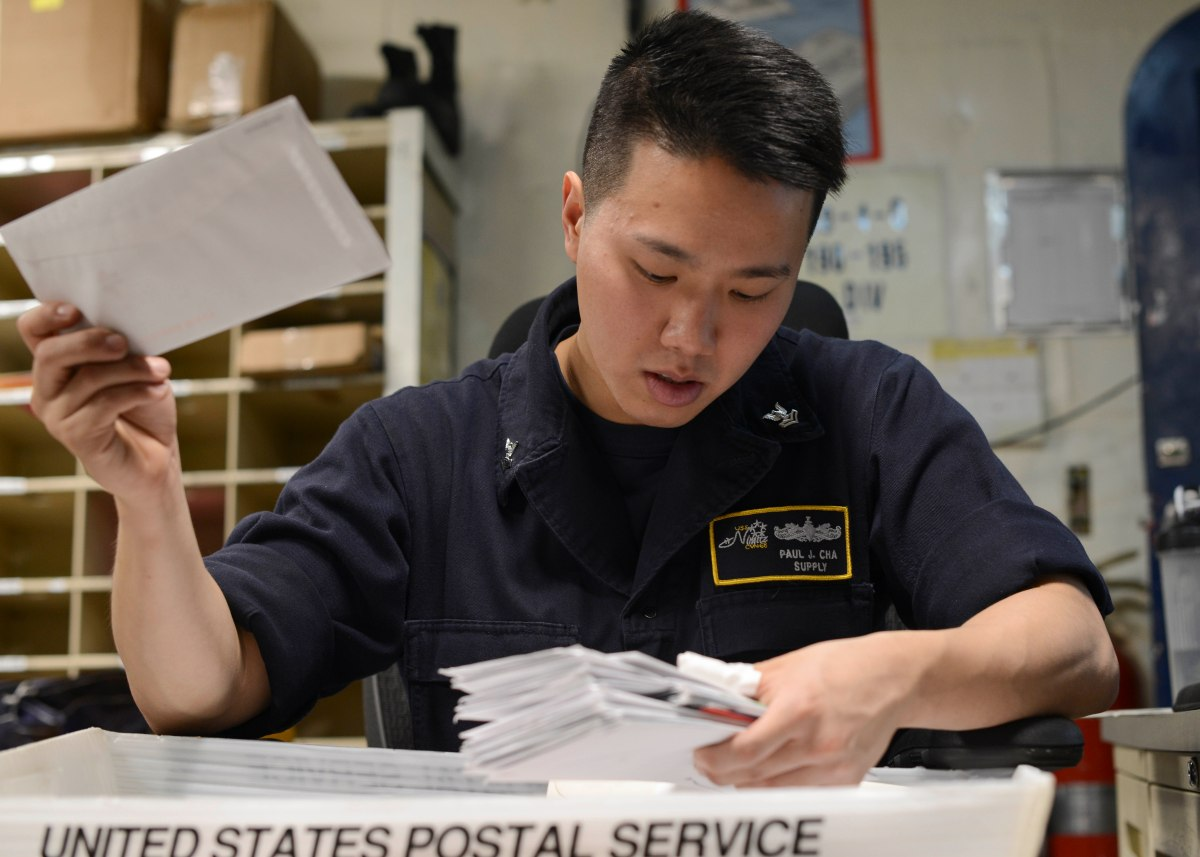 Sail Mail: The Nimitz Post Office