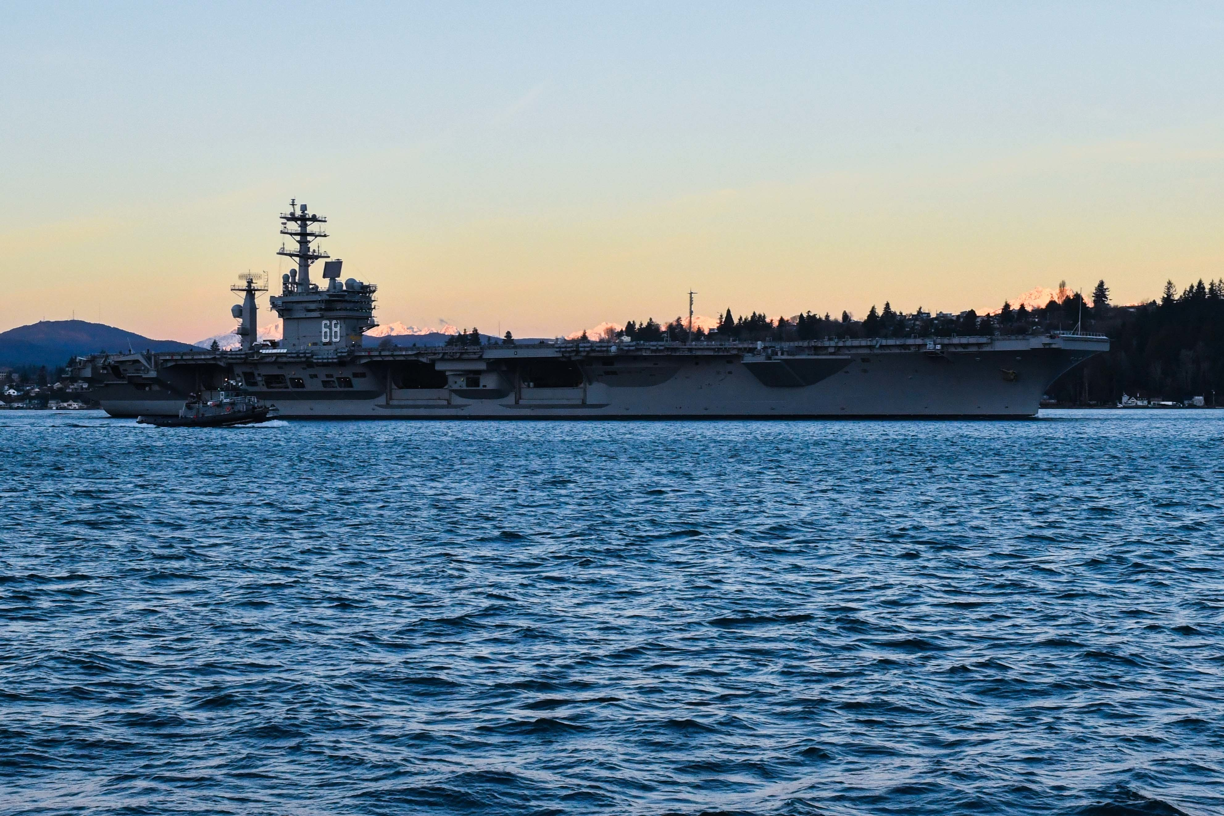 Nimitz gets underway to conduct INSURV