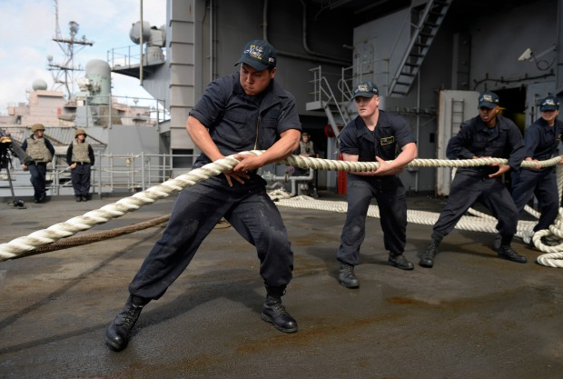 Sailors Heave Line
