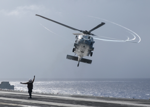 Sailors Conduct Flight Ops