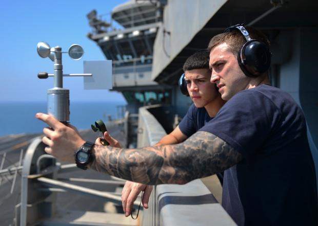 Sailors Read Weather