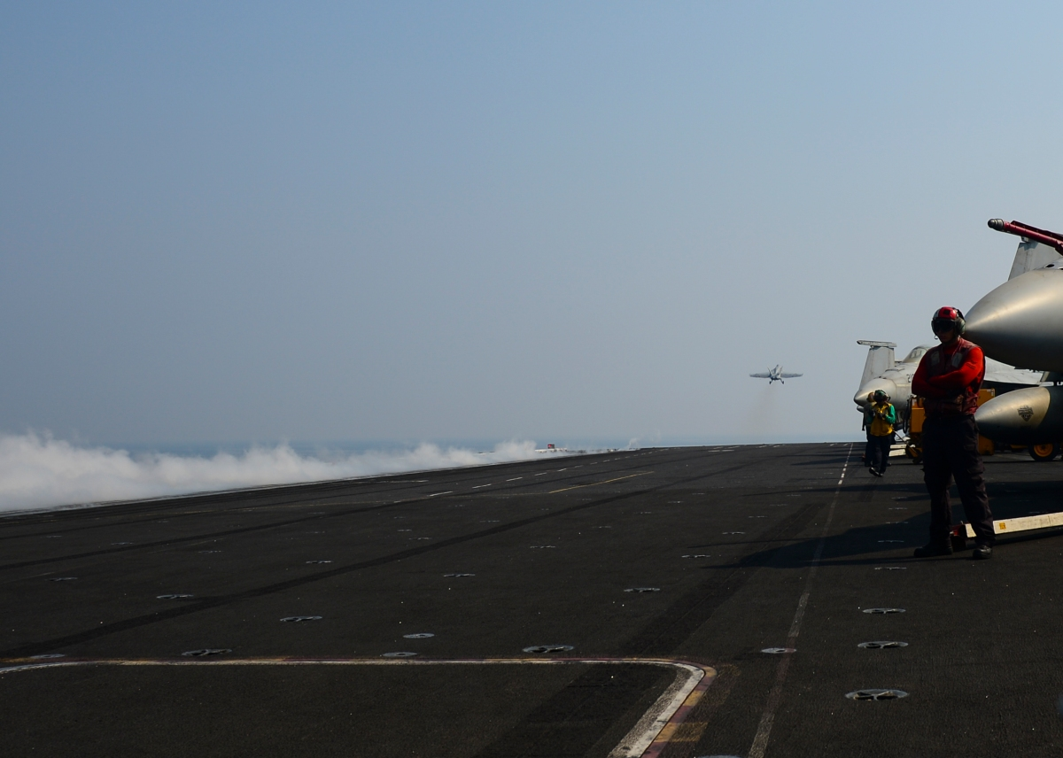 Nimitz Completes Historic 100,000th Catapult Shot