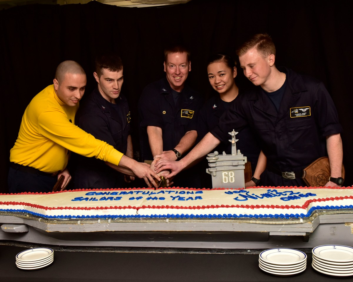 Nimitz Recognizes Sailors of the Year