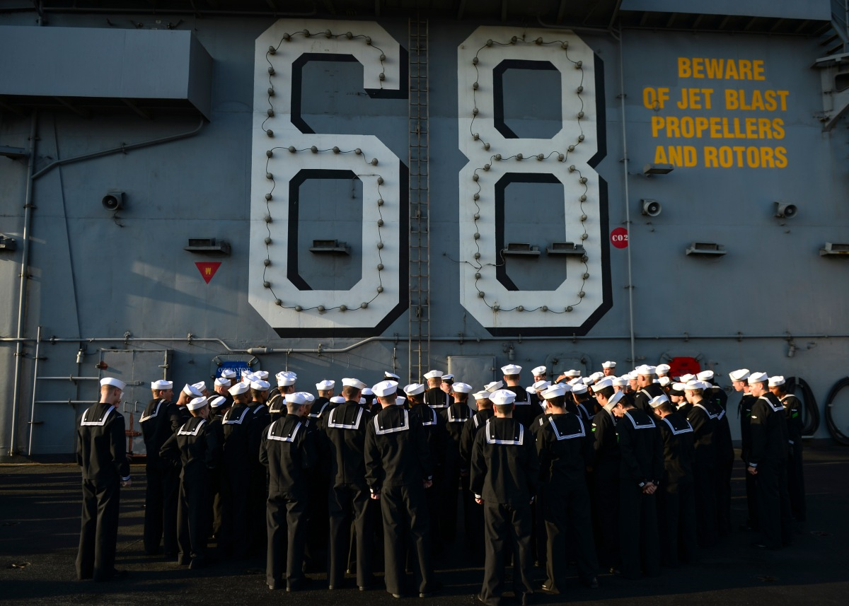 Nimitz Carrier Strike Group Returns to Washington After Deployment
